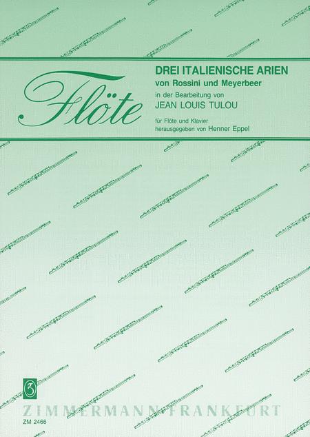 Italian Arias (3) of Rossini and Meyerbeer