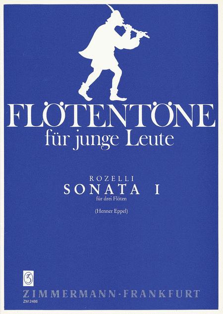 Sonata No. 1 for 3 Flutes Op. 124