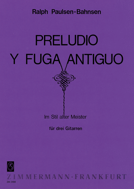 Preludio y Fuga antiguo