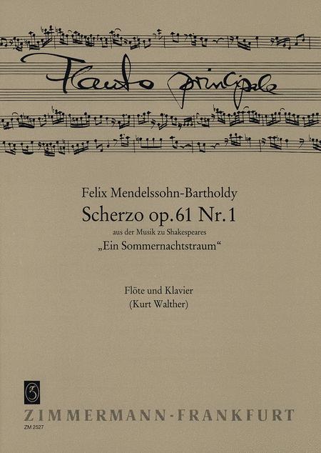 Scherzo Op. 61 No. 1