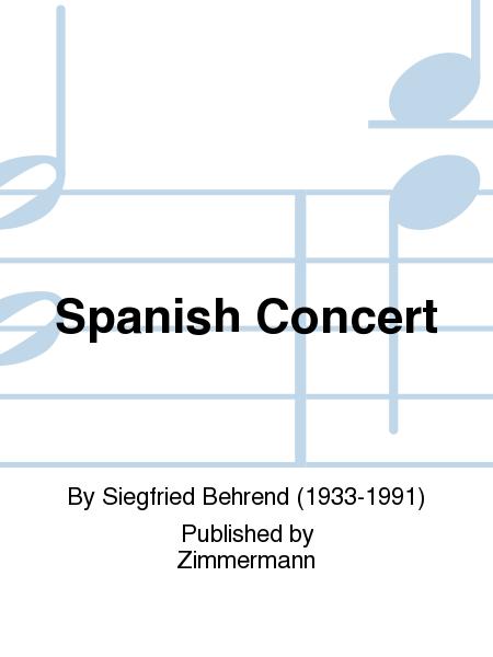 Spanish Concert