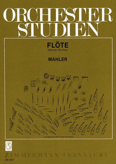 Orchestral Studies for Flute
