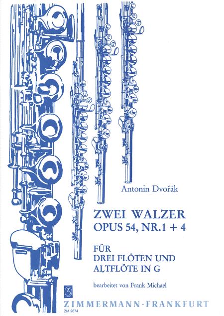 Waltzes (2) Op. 54 Nos. 1 & 4