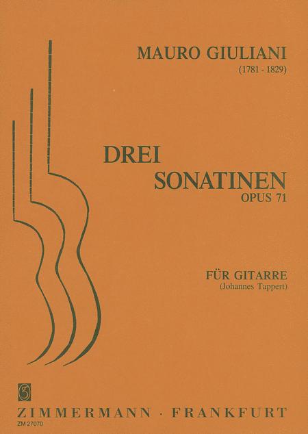 Sonatinas (3) Op. 71