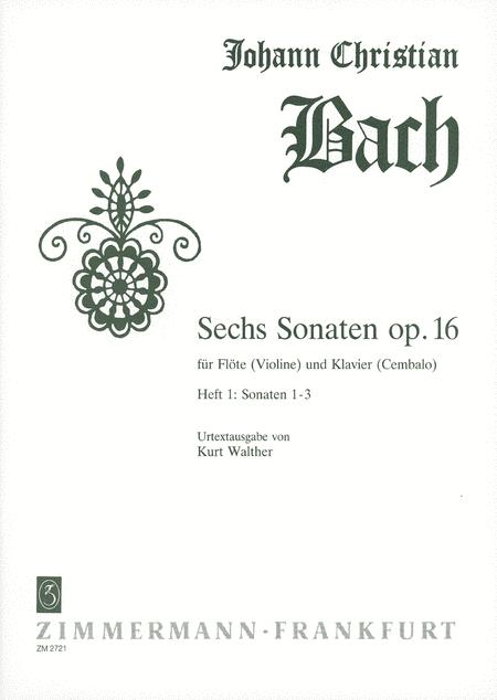 Sonatas (6) Op.16: Nos.1-3
