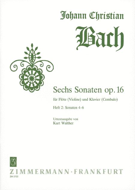 Sonatas (6) Op. 16: Nos. 4-6