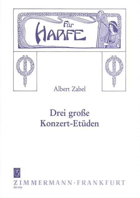 Concert Etudes (3) for Harp