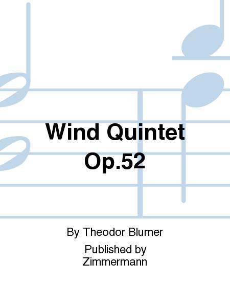 Wind Quintet Op. 52