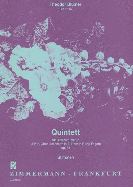 Wind Quintet Op.52