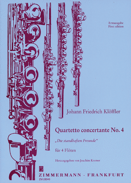 Quartetti concertanti (6): No.4