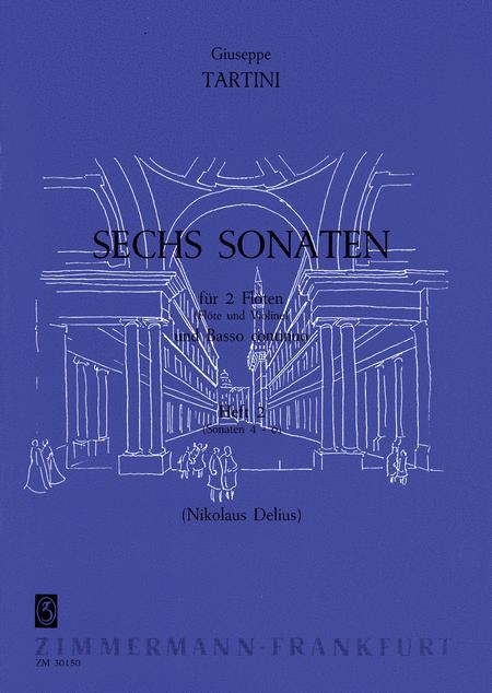 Sonatas (6) Vol. 2