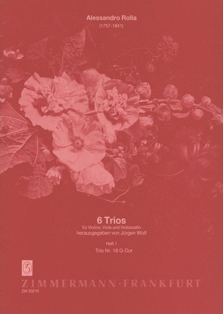 Trio concertante No. 6 in G Major