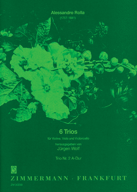 Trio concertante No. 2 in A Major