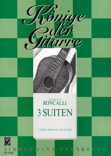 Suites (3) for Guitar Solo