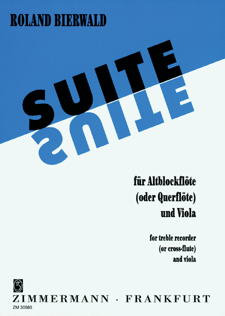Suite for Treble Recorder and Viola