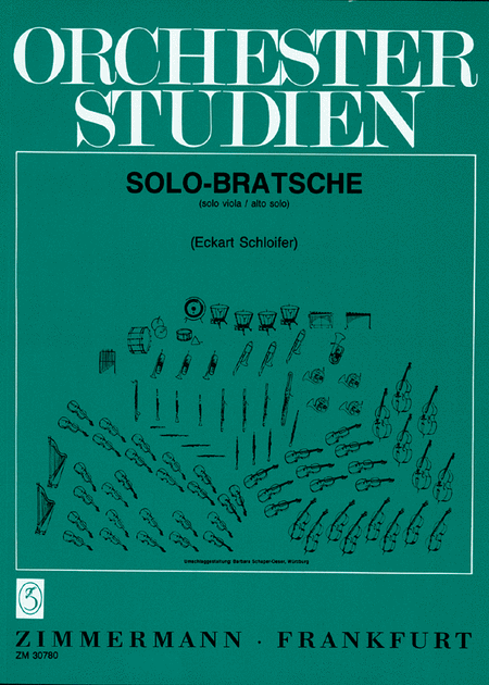 Orchestral Studies for Viola