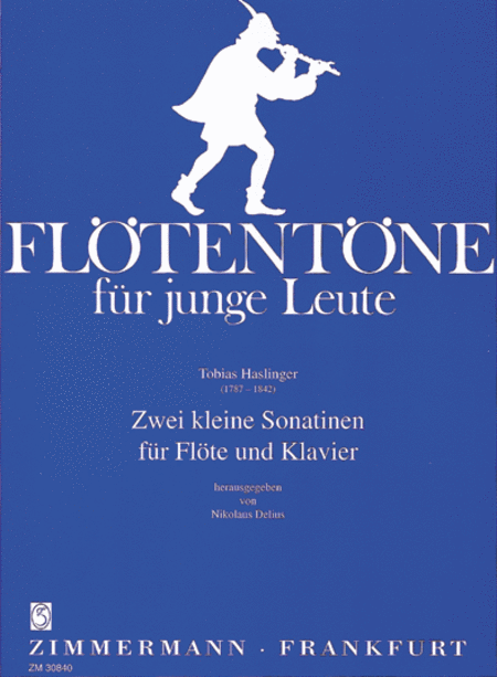 Easy Sonatinas (2) for Flute and Piano
