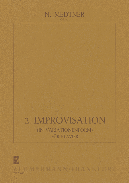 Improvisation No. 2 Op. 47