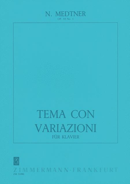 Tema con variazioni Op. 55