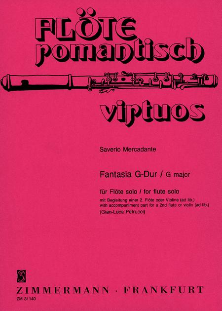 Fantasia for Flute Solo
