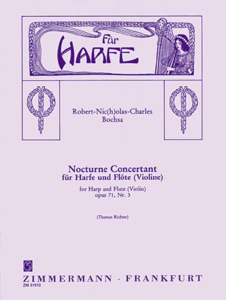 Nocturne concertant Op. 71 No. 3