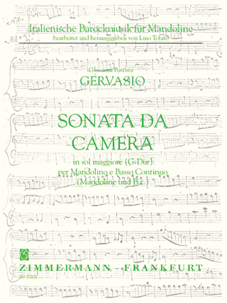Sonata per camera in G Major