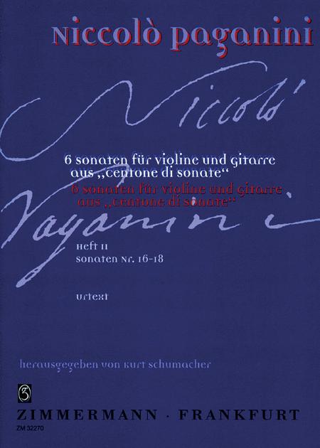 6 Sonatas from Centone di Sonate Vol. 2