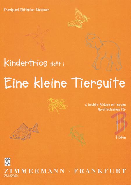 Children's Trios Vol. 1: A Little Animal Suite