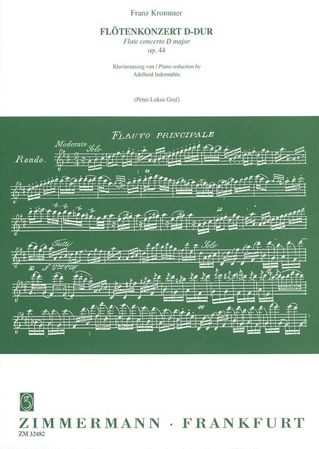 Flute Concerto in D Major Op.44