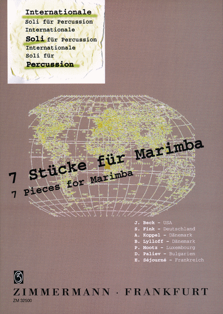 International Soli for Percussion: 7 Pieces for Marimba