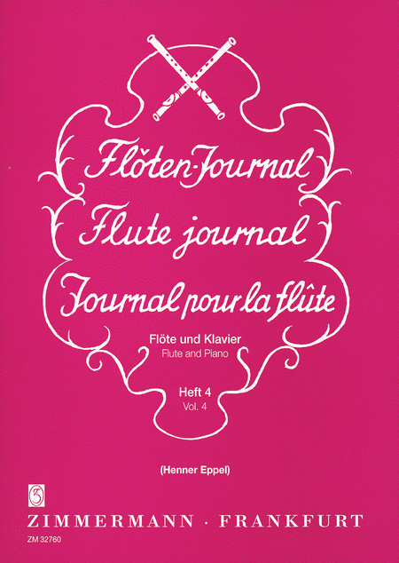 Flute Journal for Flute and Piano Vol. 4: Tribute to Amateurs