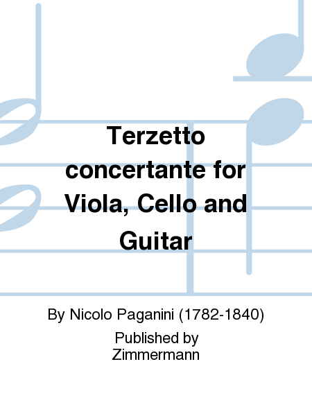 Terzetto concertante for Viola, Cello and Guitar