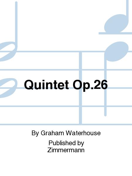 Quintet Op. 26