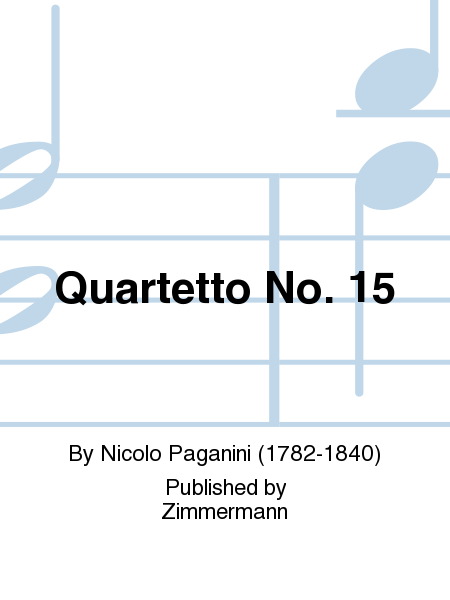 Quartetto No. 15