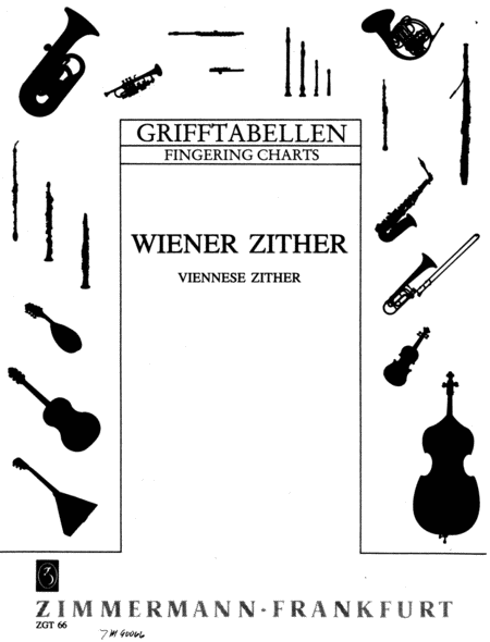 Fingering Chart for the Viennese Zither