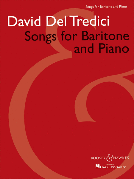 Songs for Baritone and Piano
