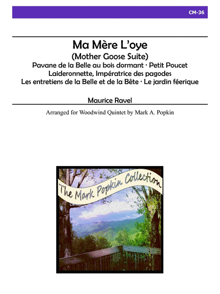 Ma Mere L'Oye - Mother Goose Suite - Wind Quintet