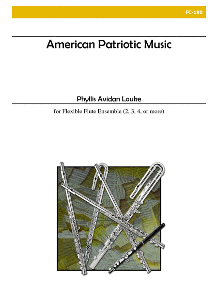 American Patriotic Music (Flexible Flute Ensemble)