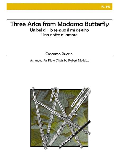 Madama Butterfly (Three Arias)