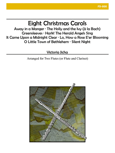 Christmas Carols for Flute Duet