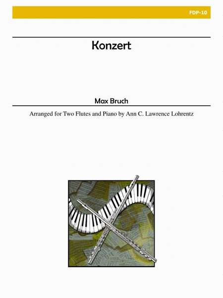Konzert for Two Flutes and Piano