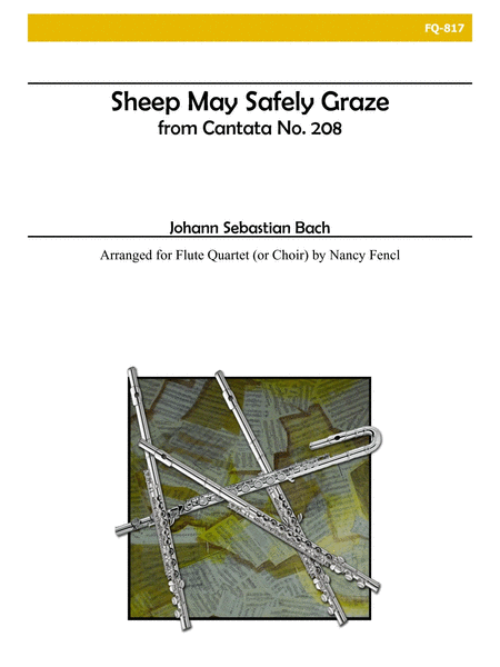 Sheep May Safely Graze (Flute Quartet)