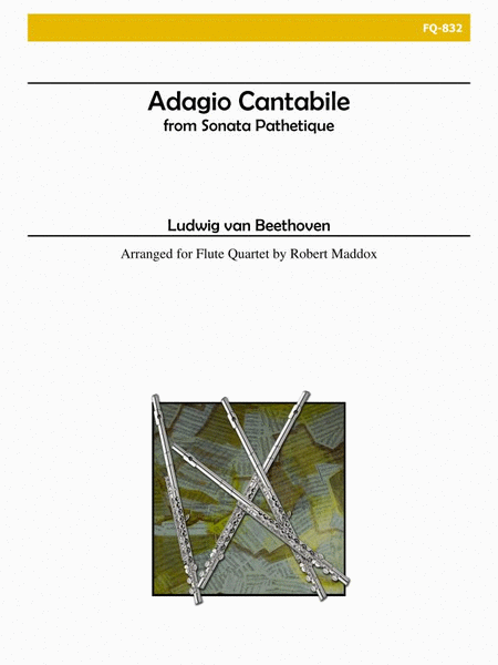 Adagio Cantabile from 'Sonata Pathetique' (Flute Quartet)