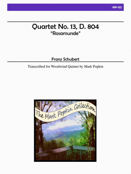 Quartet in A minor, Op. 29, No. 13, D. 804