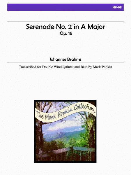 Serenade No. 2 in A Major, Op. 16