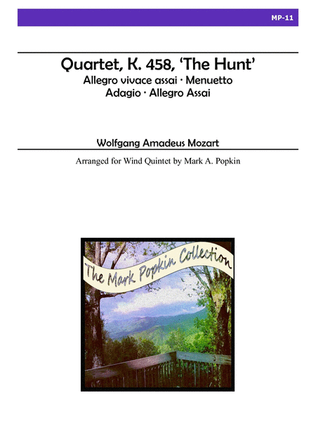 Quartet, K. 458
