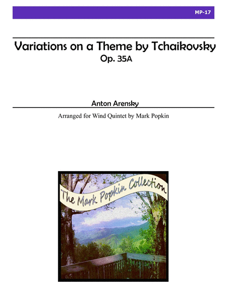 Variations on a Theme by Tchaikovsky, Op. 35a