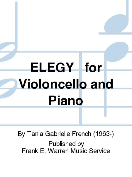ELEGY   for Violoncello and Piano