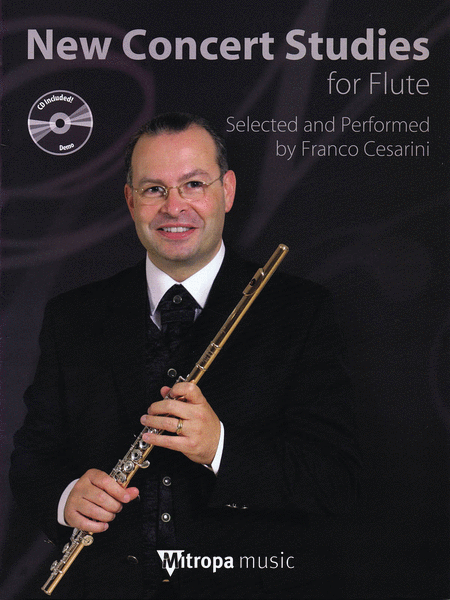 New Concert Studies For Flute (Book/CD)