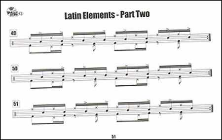 Latin Elements for the Drum Set